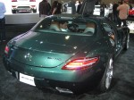 This beautiful 2012 Mercedes-Benz SLS AMG Coupe was particularly handsome in this metallic dark green. It didn't photograph well.
