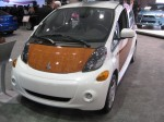 The 2012 Mitsubishi MiEV will go on sale in selected markets, including LA, in the next few months.