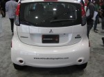 The Mitsubishi MiEV is a rear drive car with the electric motor positioned over the rear wheels. It should be fun to drive!