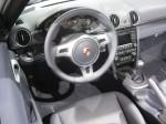 2012 Porsche Boxster interior.