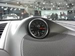 2012 Porsche Cayenne S interior detail.