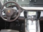 "The 2012 Porsche Panamera S Hybrid's dash is much like the ""standard"" Panamera except for some specialized software in the nav screen and some dash lights."