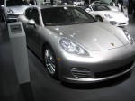 From a distance, it's hard to distinguish the 2012 Panamera S Hybrid from other Panameras.