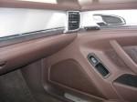 2012 Porsche Panamera S Hybrid front passenger interior detail.