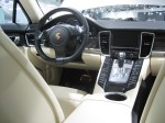 2012 Panamera Turob S interior. The craftsmanship is outstanding.