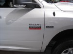 Side badging for the 2012 Ram 2500 Heavy Duty