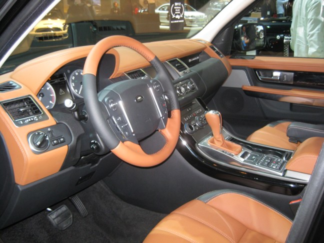 2012 Range Rover Sport Autobiography Supercharged - interior. Hey, for $93,695, it should look nice, right?