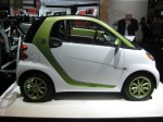 2012 Smart ForTwo EV. It's a $499/month lease and it got horrible reviews. In other words, don't bother.