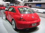 2012 VW Beetle 2.5 rear.
