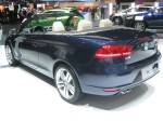 The 2012 VW Eos Executive has nicely detailed taillights.