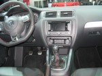 The interior of the 2012 VW Jetta GLI is slightly better than the standard Jetta. I wish there were less hard plastics and some more amenities.