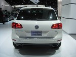 2012 VW Touareg TDI. In Europe and other markets, Porsche sells a diesel versoin of the Cayenne, with a similar TDI engine.