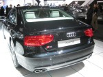 The 2013 Audi S8 rear.