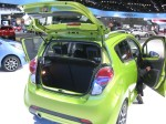 2013 Chevy Spark hatch and cargo.  I like the styling better than the slightly larger 2012 Chevy Sonic.