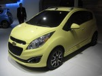This 2013 Chevy Spark had a mellow yellow paint that just didn't photograph well in the convention center lights.
