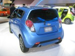 The 2013 Chevy Spark is tiny, but the slick, articulated styling really helps it stand out against the Scion iQ or a Ford Fiesta.