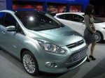 This is the 2013 Ford C-Max Energi electric vehicle. It will come in a hybrid too.