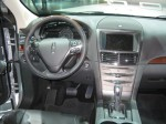 The 2013 Lincoln MKT dash. It's controls are similar to the MKS sedan.
