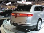 2013 Lincoln MKT rear isn't much changed.