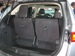 There isn't much rear cargo space in the back of the 2013 Lincoln MKT unless you fold the 3rd row seats down.