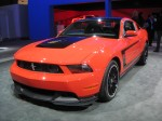 2013 Mustang Boss 302 in a color your local peace officer will LOVE with his radar gun.