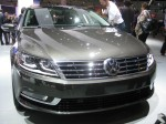 The new corporate face of the 2013 Volkswagen CC (comfort coupe, according to VW). I like the old one better - it was more delicate and refined.