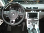 The interior of the 2012 VW CC is an exercise in functional ergonomics as well as style.