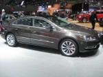 The 2012 VW CC retains its swoopy, coupe-like styling.