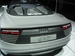 The rear of the Audi e-tron Sypder Concept.