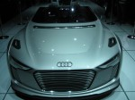 Another view of the Audi e-tron Sypder Concept.