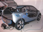 BMW i3 Concept side and charging