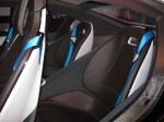 BMW i8 Concept interior - rear seats