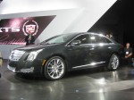 The 2012 Cadillac XTS. The new Flagship for Cadillac. It may get some Lexus buyers, but not many German car customers will defect for this.
