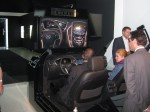 The Cadillac CUE (Cadillac User Experience) touch-sensitive infotainment system. It's introduction is in the new XTS.