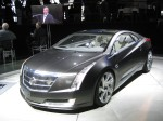 This beautiful Cadillac ELR Concept has been recycled from last year.  It may hint on the upcoming Cadillac extended-range EV that uses the Chevy Volt architecture.