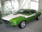 This really was a beautiful classic customized Mustang by Galpin Auto Sports - part of the Galpin Auto Group in North Hills.