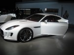 Another view of the Jaguar CX-16 Concept. It has a 3.0 liter V6 with an electric motor built into an 8-speed automatic transmission. It has 468 hp, 505 lb-ft torque, 0-60 in 4.4 seconds limited to 186 mph.