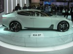 Kia GT Concept - side with doors closed.