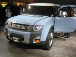 The Land Rover DC100 Concept is fantastic in powder blue with a white top.
