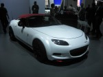The MX-5 Spyder's flaired fenders and larger wheels inject much-needed testosterone into the diminutive Miata.