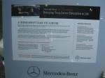 Information on the Mercedes-Benz Driving Academy. If you've got kids and can afford it, it's a great drivers education course.