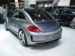 The Beetle R has a 2.0L TSI engine with 256 hp and 4Motion all-wheel drive.
