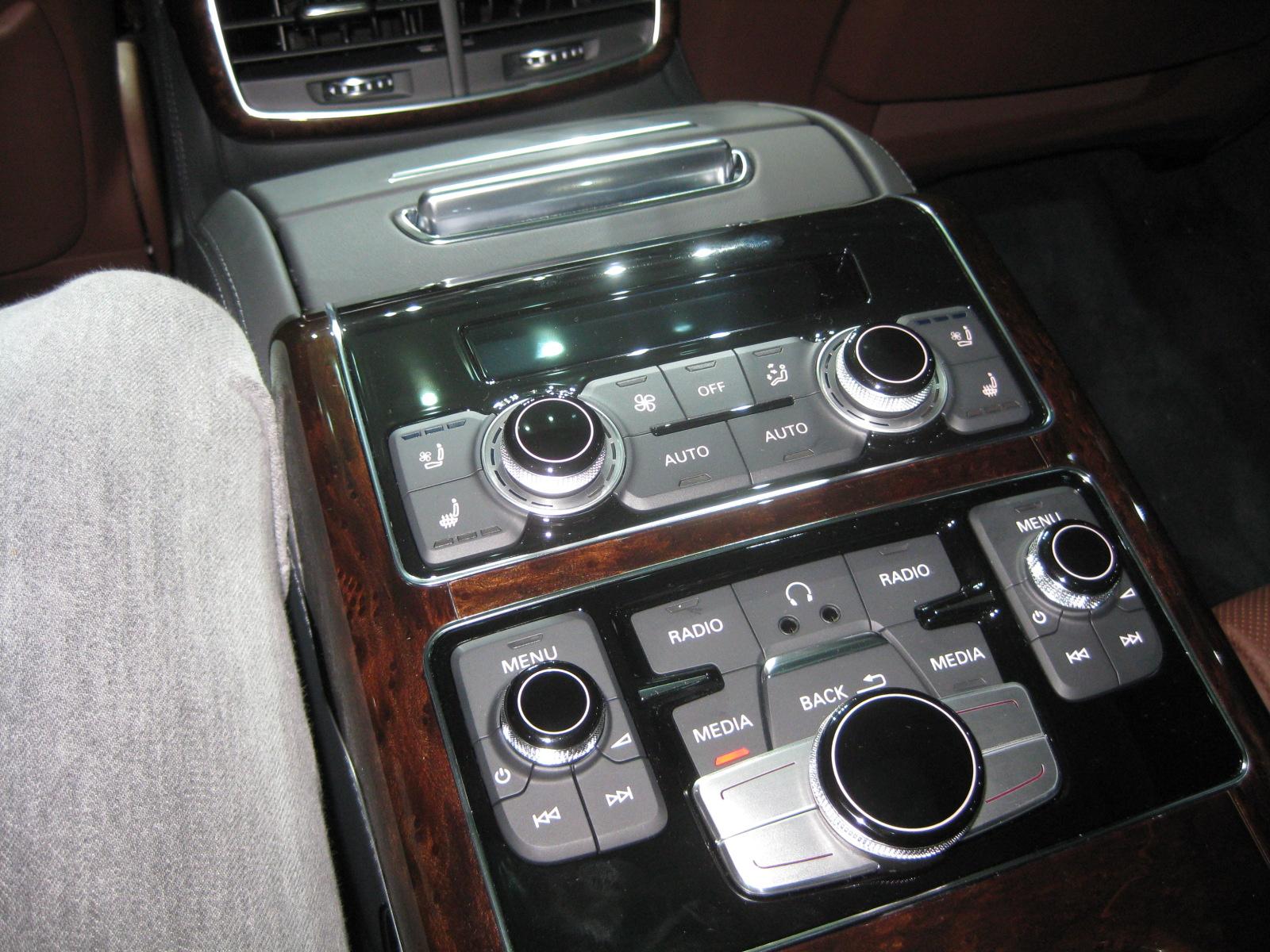 Audi 2013 A8l Tdi Interior Rear Seat Detail Todd