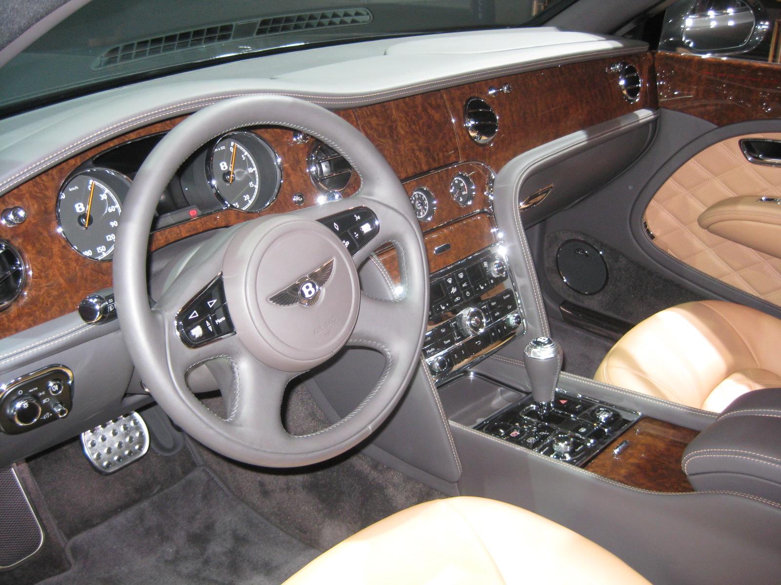 Bentley 2013 Mulsanne Interior Todd Bianco S