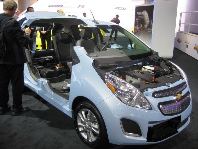 Chevrolet 2014 Spark Ev Cut Away Todd Biancos