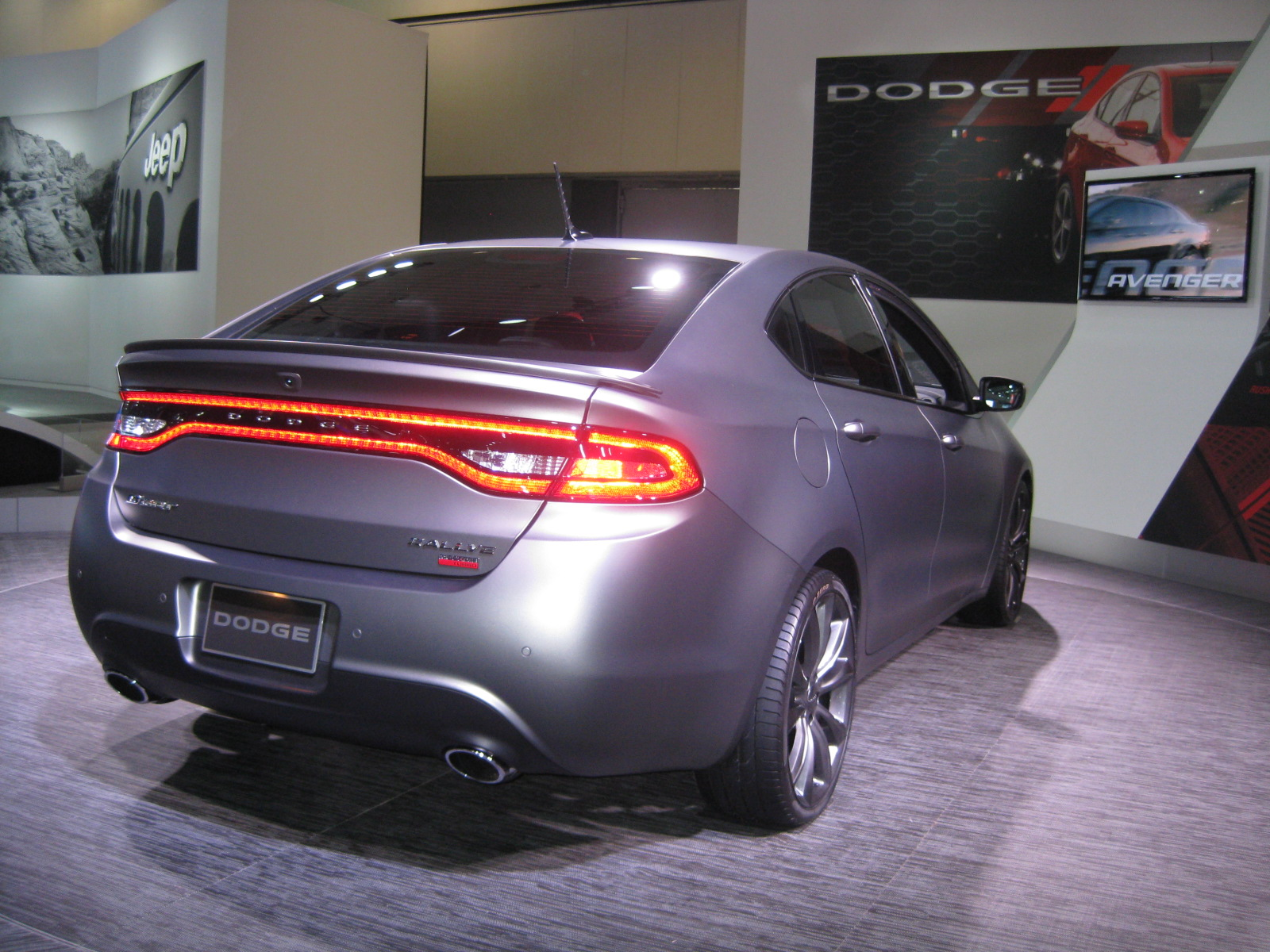 Chrysler Group 2013 Dodge Dart Rallye Rear Todd Bianco S Acarisnotarefrigerator Com Blog