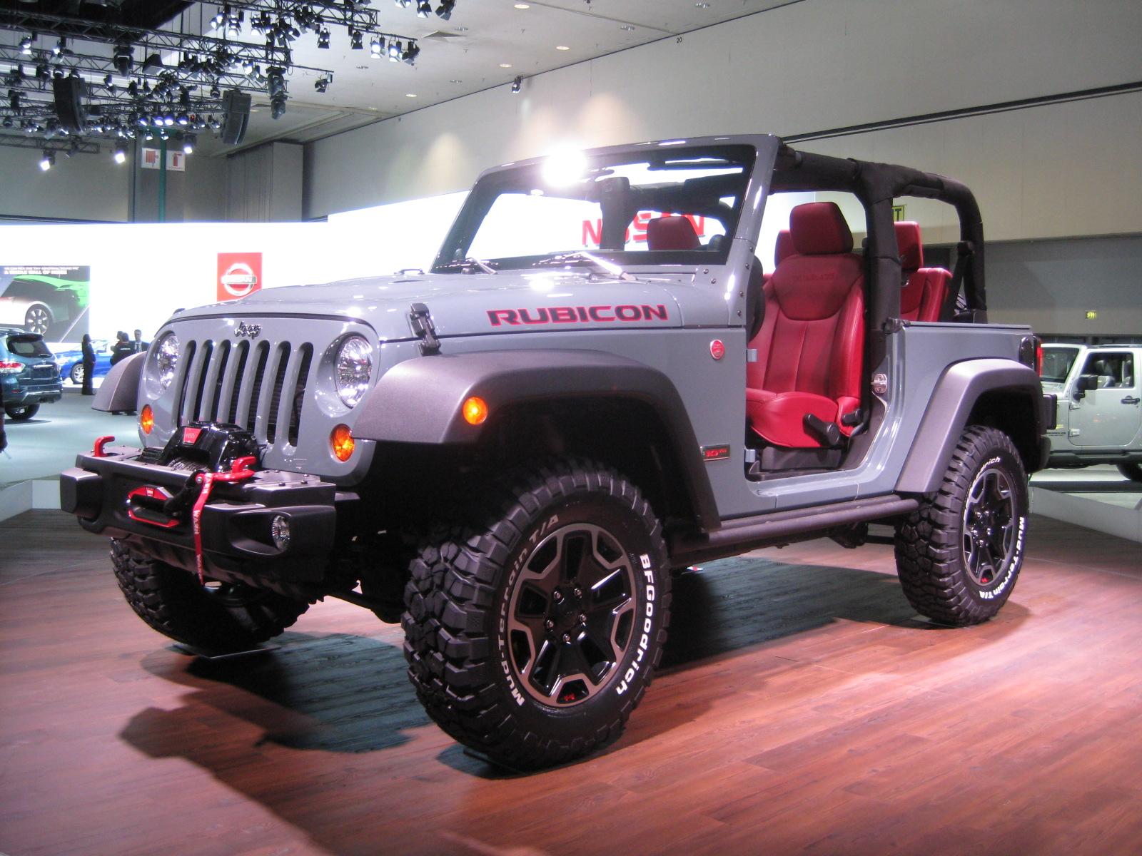 Chrysler Group 2014 Jeep Wrangler Rubicon 10th