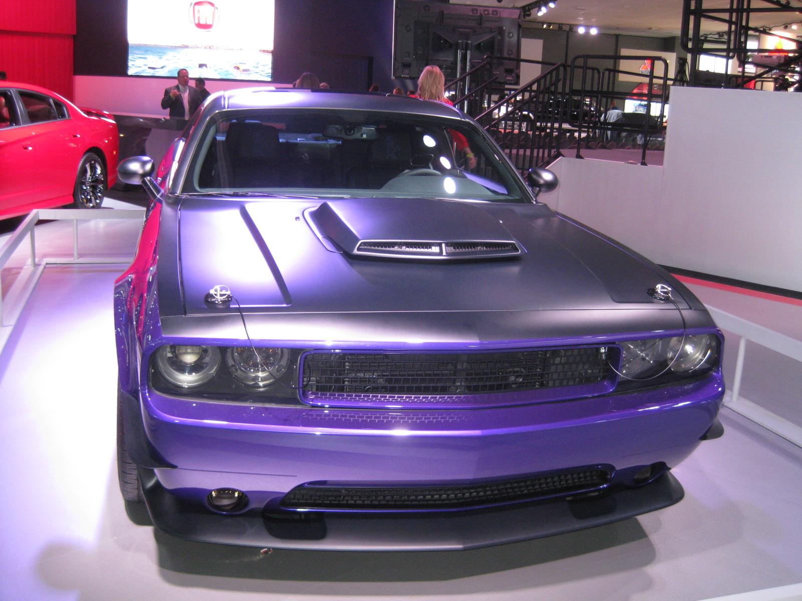 Chrysler Group Mopar Concept Car Dodge Challenger In