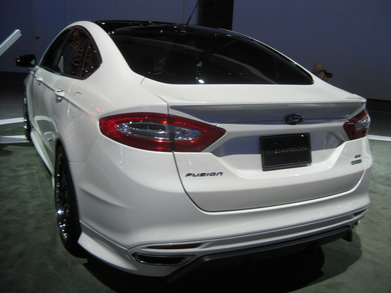 Ford 2013 Fusion Euro Series By 3d Carbon Air Design