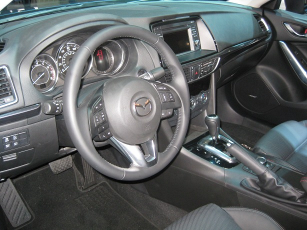 The interior of the 2014 Mazda6.